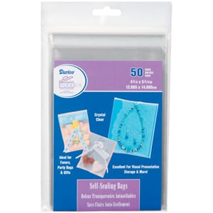 Darice: Clearbags - Self-Sealing Bags, 50/Pkg