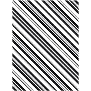 Darice: Stripe Background - Embossing Folder 4.25x5.75 inch