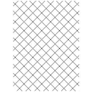 Darice: Wire Fence - Embossing Folder 4.25x5.75 inch