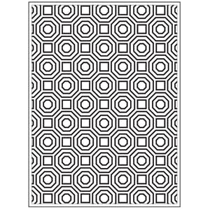 Darice: Octagons - Embossing Folder 4.25x5.75 inch