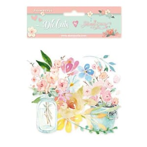 Stamperia: Circle Of Love Flower Paper Die-Cuts Pack
