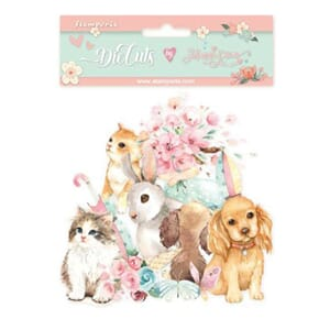 Stamperia: Circle Of Love Cats & Dogs Paper Die-Cuts Pack