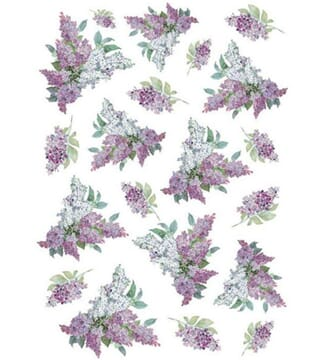 Stamperia: Texture with lilac Rice paper, A4