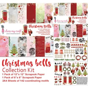 Dress My Craft: Christmas Bells Collection Kit