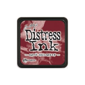 Tim Holtz: Aged Mahogany - Distress MINI Ink Pad