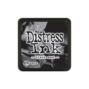 Tim Holtz: Black Soot - Distress MINI Ink Pad