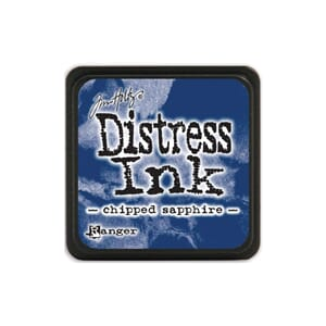Tim Holtz: Chipped Sapphire - Distress MINI Ink Pad