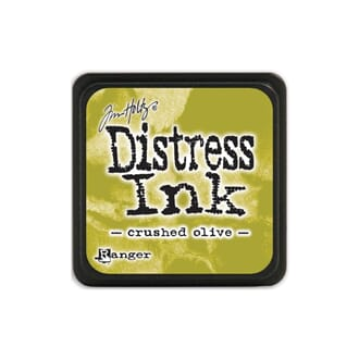 Tim Holtz: Crushed Olive - Distress MINI Ink Pad