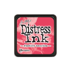 Tim Holtz: Festive Berries - Distress MINI Ink Pad