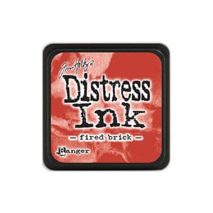 Tim Holtz: Fired Brick - Distress MINI Ink Pad