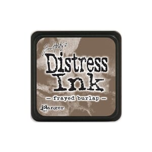 Tim Holtz: Frayed Burlap - Distress MINI Ink Pad