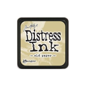 Tim Holtz: Old Paper - Distress MINI Ink Pad
