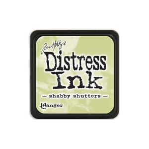 Tim Holtz: Shabby Shutters - Distress MINI Ink Pad