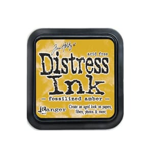 Tim Holtz: Fossilized Amber - Distress MINI Ink Pad