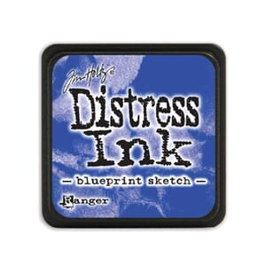 Tim Holtz: Blueprint Sketch - Distress MINI Ink Pad