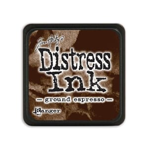 Tim Holtz: Ground Espresso - Distress MINI Ink Pad