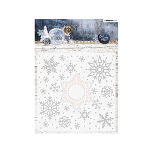 Studio Light: Embossing Folder Die Cut - Snowy Afternoon 02