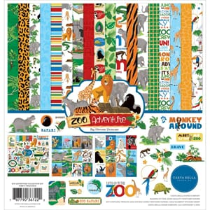 Echo Park: Zoo Adventure Collection Kit, 12x12 inch