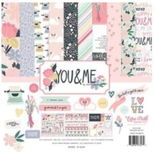 Echo Park: You & Me Collection Kit, 12x12 inch