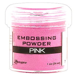 Ranger: Pink - Embossing powder 1oz