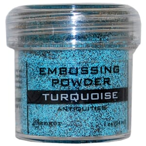 Ranger: Turquoise - Embossing powder 1oz