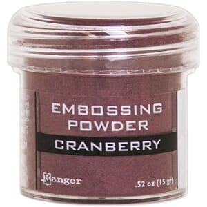 Ranger: Cranberry Metallic - Embossing powder 1oz