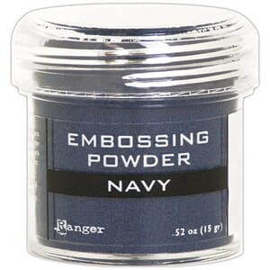 Ranger: Navy Metallic - Embossing powder 1oz
