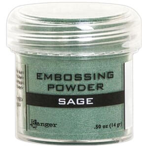 Ranger: Sage Metallic - Embossing powder 1oz