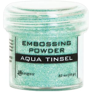 Ranger: Aqua Tinsel - Embossing powder 1oz