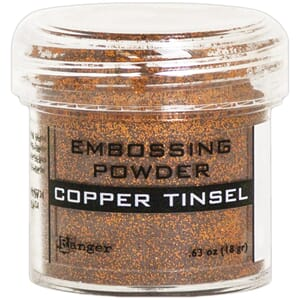 Ranger: Copper Tinsel - Embossing powder 1oz
