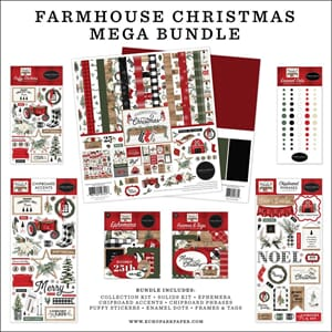Carta Bella: Farmhouse Christmas Mega Bundle Collection Kit
