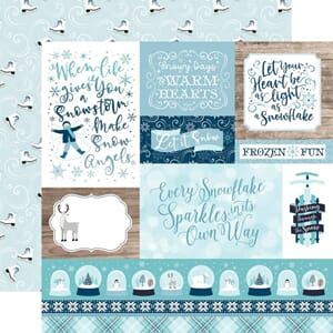 Echo Park Paper: Multi Journaling Cards - Winter Magic