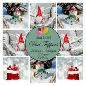 Dixi Craft Toppers Gnome & Snowman