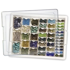 Elizabeth Ward's: Tiny Bead Storage Tray, 13.75x10.5x2 inch