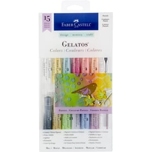 Faber Castell: Pastels Mix & Match Gelatos, 12/Pkg