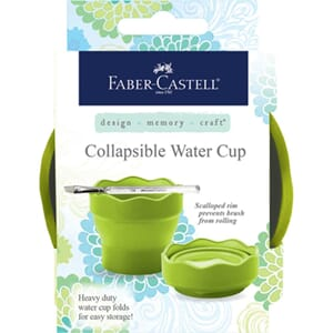 Faber-Castell - Collapsible Water Cup, Lime green