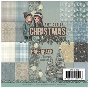 Find It Trading: Christmas Wishes Amy Design Paper Pack, 23