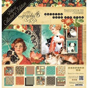 Graphic 45: Raining Cats & Dogs Edition Pack 12x12