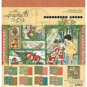 Graphic 45: Christmas Magic Collection Pack, 12x12 inch, 9/