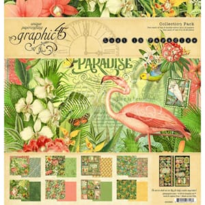Graphic 45: Lost in Paradise Collection Pack, 12x12 inch