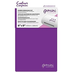 Gemini Junior Accessories - Rubber Embossing mat 1/Pkg