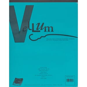 Grafix Vellum Assortment, lettersize, 40/Pkg