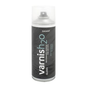 Ghiant H2O Varnish Gloss Spray, 400 ml
