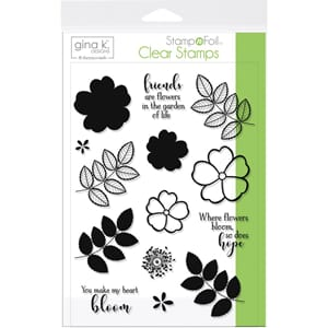 Gina K Designs: Where Flowers Bloom Clear Stamps