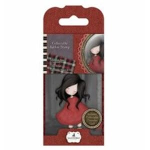 Gorjuss: Poppy Wood, mini stamps, 1/Pkg