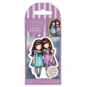 Gorjuss: Friends Walk Together, mini stamps, 1/Pkg