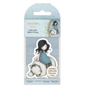 Gorjuss: Winter Friend, mini stamps, 1/Pkg