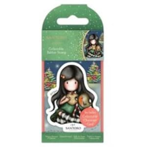Gorjuss: My Christmas Friend, mini stamps, 1/Pkg