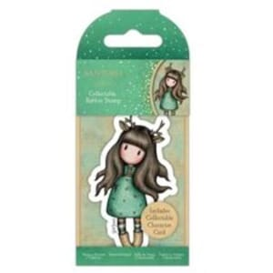 Gorjuss: Doe-Eyed, mini stamps, 1/Pkg