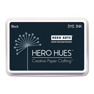 Hero Arts: Black - Hero Hues Dye Ink Pad